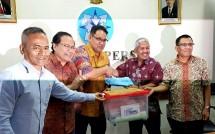 Serikat Media Siber Indonesia Serahkan Berkas Pendaftarann ke Dewan Pers (Foto Ist)