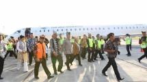 Menteri Pariwisata, Arief Yahya di Bandara Blimbingsari Banyuwangi (Foto; Kemenpar)