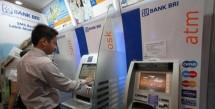 Jaringan ATM BRI (Foto st)