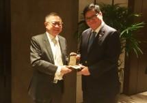 Menperin Airlangga Peroleh Penghargaan LKY Fellow ke-56 (Foto Humas)