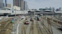 Ilustrasi Hunian Terintegrasi dengan moda transportasi publik seperti Transit Oriented Development (TOD)