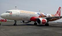 Pesawat AirAsia Tampilkan Logo Wonderful Indonesia (Foto Dije)