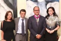 Ketum Kadin Indonesia Rosan P. Roeslani Terima Penghargaan Bintang Jasa Dari Pemerintah Belgia (Foto Ist)