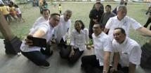 Rini Soemarno, Dirut BTN Maryono, Dirut BNI Achmad Baiquni, Dirut PLN Sofyan Basir, Dirut Bank Mandiri Kartika Wirjoatmodjo , (Foto Meirino/INDUSTRY.co.id)