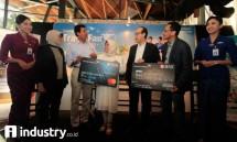 Garuda-BNI Target Transaksi GATF Rp6,5 Miliar (Foto Rizki Meirino)