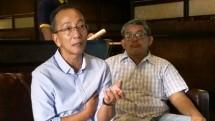 Gugun Yudinar, Ketua Umum GO TV Kabel Indonesia, bersama Sekjen, Muchlis