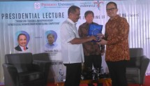 "Menteri Pariwisata Arief Yahya dalam Presidential Lecture ""Indonesian Tourism & Entrepreneurship between Local Business Creation & Global Competition"" di President University, Senin (25/9)"