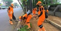 Ilustrasi Pasukan Orangen Pemrpov DKI Jakarta
