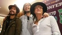 Yockie Suryoprayogo bersama Aryo Wahab dan Andi RIF (Foto: AMZ)