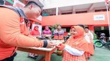 Rumah Zakat menggulirkan program Gizi ke SD Juara.