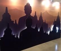Lukisan Candi Borobudur (Fot Dije)