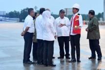 Presiden Jokowi Resmikan Jalan Tol Pertama di Sumatra Selatan (Foto Setpres)