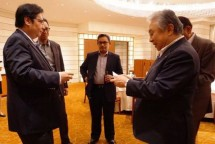 Menperin irlangga Hartarto dan President Fujitrans Corporation Tatsuo Keii (Foto Mumas)
