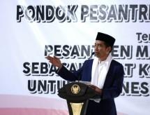 Presiden Jokowi Rapat Koordinasi Nasional Pondok Pesantren Muhammadiyah di Garut (17/10/2017)