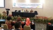 Workshop Pengendalian dan Pengawasan Koperasi Bagi Aparatur Kabupaten/Kota di Jawa Timur, di Kota Batu, Malang, Senin (23/10).