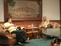 Menpar Arief Yahya dan ketua PWI Margiono (Foto Dok Industry.co.id)