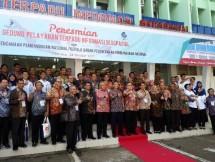 Menteri PPN Resmikan Gedung Pelayanan Terpadu Informasi Geospasial (Foto AMZ)