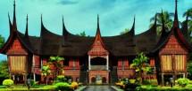 Rumah Gadang Minang Sumatera Barat (Foto Ist)