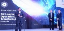 Sinar Mas Land Raih Penghargaan IDC Digital Ttansfornation Awards 2017 (Foto Ridwan)
