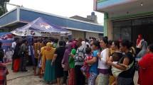 Perindo Laksanakan Bakti Sosial Pembagian Beras Gratis di Pondok Kopi (ist)