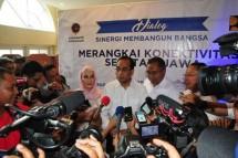 Menhub Budi Karya Sumadi kunjungan kerja ke Sukabumi (Foto Humas)