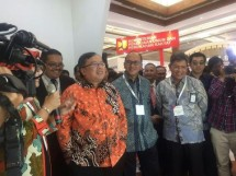 Kepala Bappenas Bambang Brodjonegoro saat membuka Indonesia Infrastructure Week (IIW) 2017 di Jakarta, Rabu (8/11/2017) (Foto Ridwan)