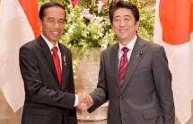 Presiden Jokowi dan PM Jepang Shinzo Abe (Foto Ist)