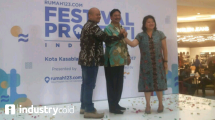 Pembukaan festival properti indonesia (Ridwan/ INDUSTRY.co.id)