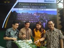 PT Metropolitan Land Tbk terus berekspansi dan yang terbaru ialah meluncurkan Royal Venya Ubud, dikawasan Ubud Bali (Foto: Dok Industry.co.id)
