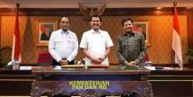 Lukita Dinarsyah Tuwo Kepala BP Batam bersama Menhub dan Men PAN RB (Foto Humas)