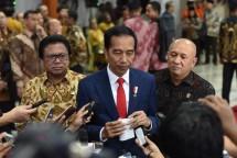 Presiden Jokowi bersama Ketua DPD OSO (Foto: Humas/Jay)
