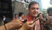 Ketua Asosiasi Pengusaha Indonesia Muda Sam Aliano sambangi KPK, Senin (20/11/2017) Apresiasi langkah KPK Tahan Setya Novanto