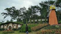 Taman Bunga Celosia, di Semarang (Foto: http://www.cumacuma.org)