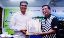 Ketum HKI Sanny Iskandar dan CEO Majalah Industry Nandi Nanti (Foto Dok-Industry.co.id)