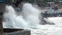 Ilustrasi gelombang tinggi (Foto Ist)