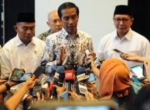 Presiden Jokowi saat HUT PGRI (Foto Setkab)