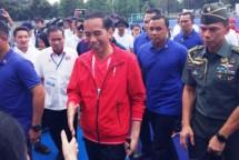 Presiden Jokowi kunjungi proyek-proyek di GBK Senayan( Foto Kompas.com)