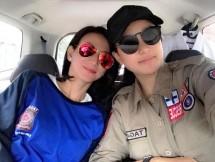 Ketua umum PARFI 56 Marcella Zalianty dan Wanda Hamidah (Foto AMZ)