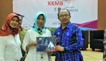 Deputi Pembiayaan Kementerian Koperasi dan UKM Yuana Sutyowati memberikan sambutan pada Gebyar Konsultan Keuangan Mitra bank (KKMB) Bersama UMKM di Jakarta, Selasa (05/12/2017).