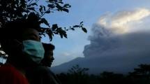 Aktivitas Vulkanik Gunung Agung (ist)