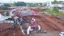 500 Pesepeda Meriahkan Gowes Bareng CitraGrand Cibubur CBD (Foto Dok Industry.co.id)