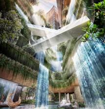 Proyek Grand Shamaya 'Water Fall' PT PP Properti (dok INDUSTRY.co.id)