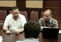 Letjen Purn. Kiky Syanahkri bersama Putut Prabantoro di kantor PPAD (dok INDUSTRY.co.id)
