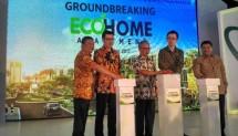 PT Ciputra Residence melakukan ground breaking proyek EcoHome Apartement di kawasan Citra Raya Tangerang Banten, Sabtu (16/12/2017).