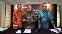 PT J Resources Asia Pasifik Tbk (PSAB), William Surnata, Budikwanto Kuesar dan Edi Permadi (Foto Abe)