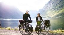 Belen Wanita asal Spanyol yang Hobi Traveling dengan Sepedanya Berkeliling Norwegia (Foto:boredpanda.com)