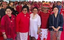 Lima menteri perempuan Kabinet Kerja (Foto: Setpres)