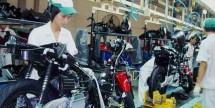 Pabrik motor Honda (foto Kompas.com)