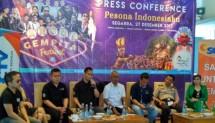 """Suasana Konferensi Pers Ancol menyambut tahun baru 2018 dengan tajuk """"Pesona Indonesiaku"""" (Foto: INDUSTRY.co.id)"""