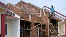 Ilustrasi pembangunan rumah (ist)